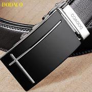 Bộ Thắt lưng nam Ví nam da cao cấp DODACO DDC110 (Bạc xanh)