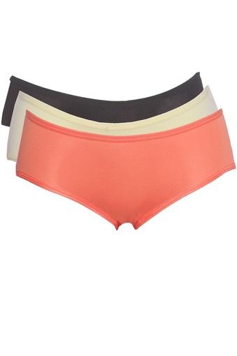 Bộ 3 Áo Lót Ngực Nữ 4 dây Quai Ngang_ 3BRA 015 B W NU + Tặng 3 quần lót nữ