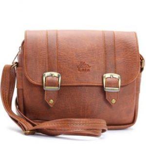 Túi đeo chéo LATA HN08 (Da bò đậm )
