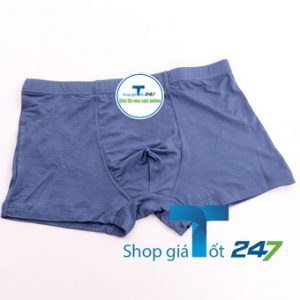 Bộ 05 quần Boxer Trơn nam Siêu Nhẹ Giá Tốt 247