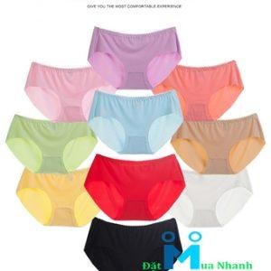 Bộ 10 Quần lót nữ Ice Silk - Candy802