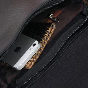 Túi đeo chéo nam thời trang d267d (Đen)