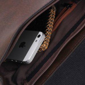 Túi đeo chéo nam thời trang d267n (Nâu)