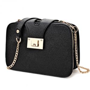 Túi nữ thời trang phong cách hiện đại HQ205962 (Đen)