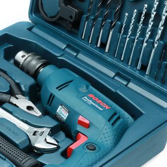 Bộ máy khoan động lực Bosch GSB 550 và bộ dụng cụ 100 chi tiết Bosch