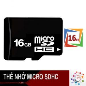 Thẻ nhớ 16GB Micro SDHC (Đen)