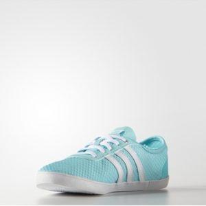 Giày thể thao nữ Adidas VS QT Vulcanised SEA W AQ1469 (Xanh)