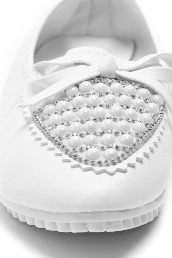 Giày búp bê AZ79 WNBB0100006A1 (Trắng)