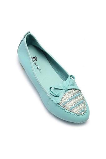 Giày búp bê AZ79 WNBB0100006A2 (Xanh)
