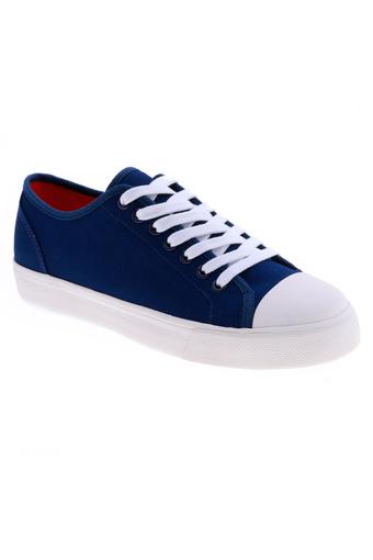 Giày vải nữ kiểu cột dây Aqua Sportswear W1031A (Xanh Đen)