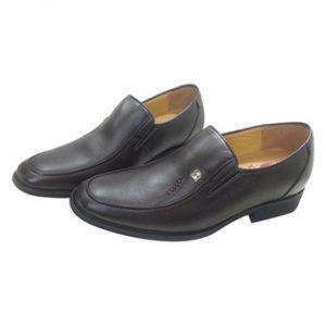 Giày tăng chiều cao cho nam ADAM AD0043 (Đen)