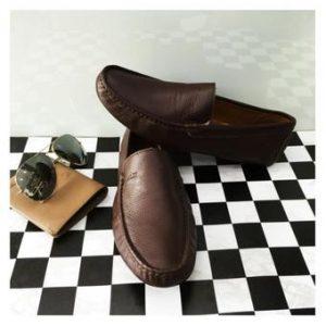 Giày mọi nam da bò ( Màu nâu )