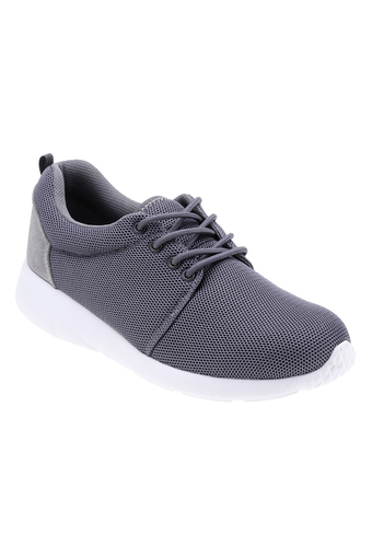 Giày thể thao nam kiểu cột dây Sutumi Aqua Sportswear SUM (Xám)