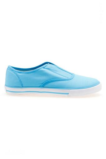 Giày lười nữ Aqua Sportwear O-001 (Xanh dương)