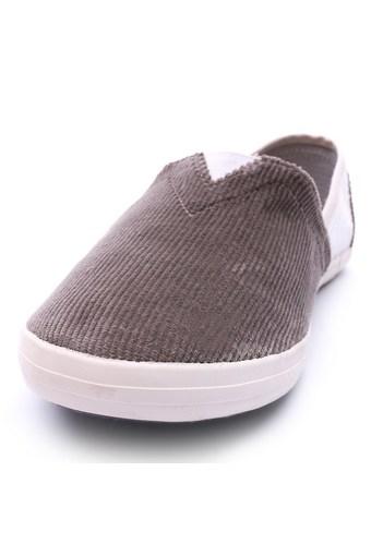 Giày lười nam hiệu Aqua Sportswear L002K (Xám phối Trắng)