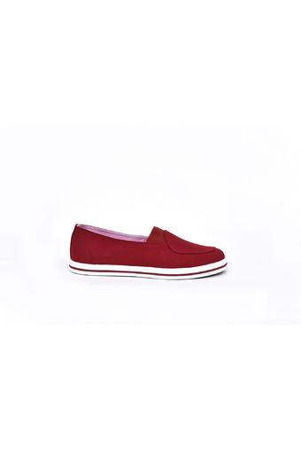 Giày lười nữ thời trang ANANAS 40113 (Đỏ)