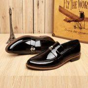 Giày lười da bóng GLM 07