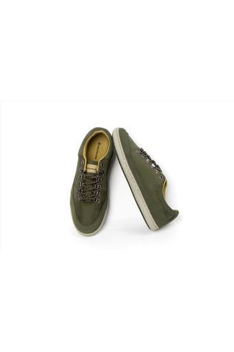 Giày nam thời trang ANANAS 20123 (Xanh rêu)(EU:43)