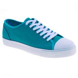 Giày vải nữ kiểu cột dây Aqua Sportswear W1031A (Xanh lá)