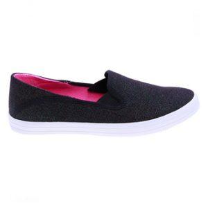 Giày lười nữ Aqua Sportswear W125KT (Đen)